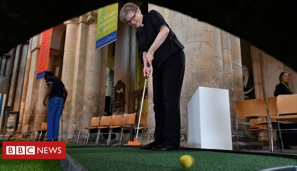 Why are cathedrals web hosting helter-skelters and golf programs?