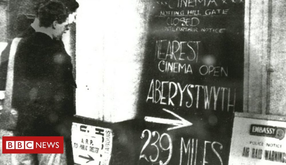 Aberystwyth: The town where cinemas stayed originate as WW2 began
