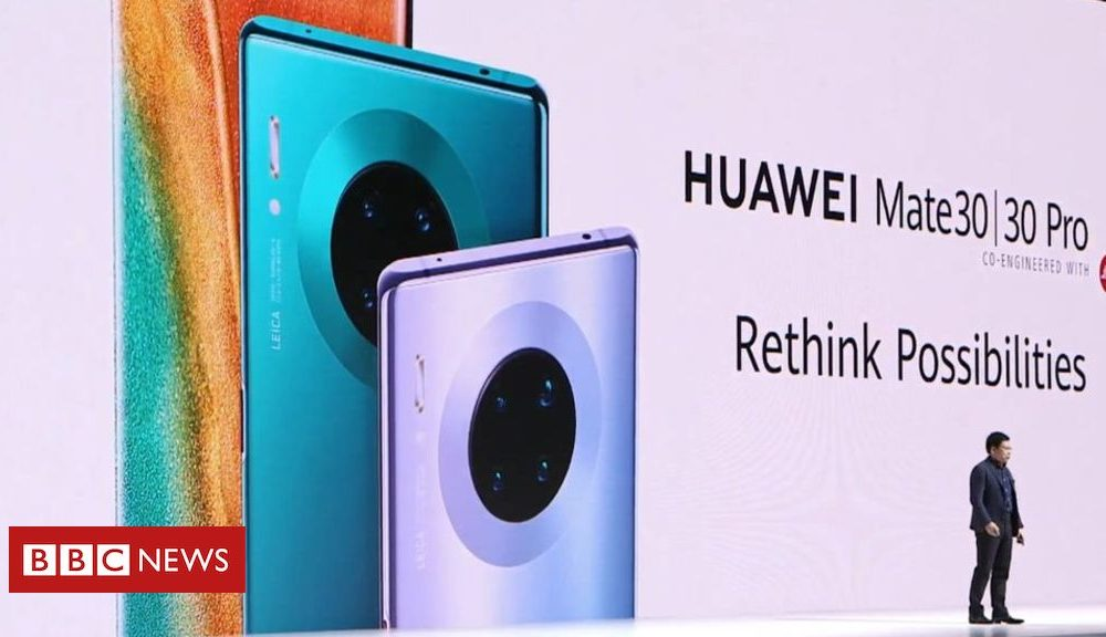 Huawei's Mate 30 telephones lack Google providers and products