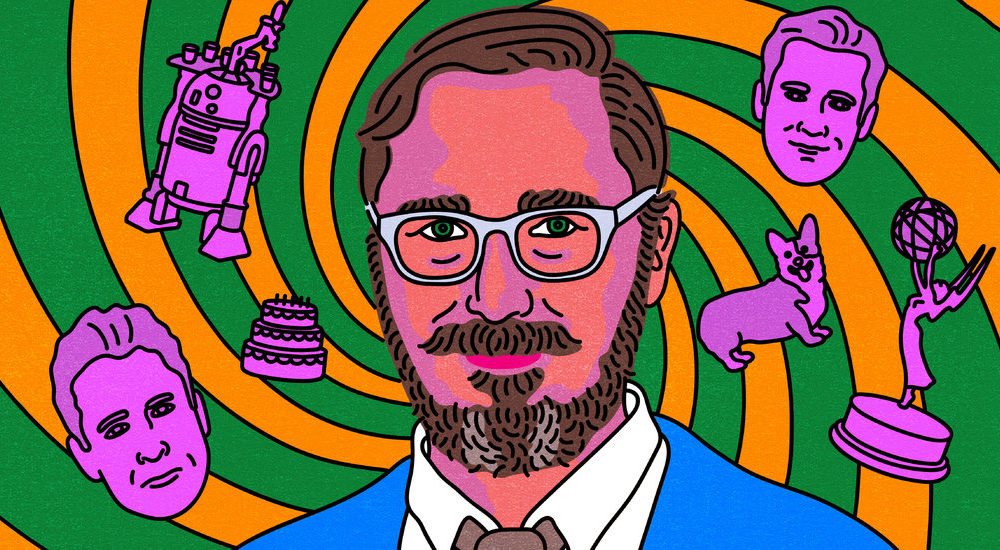 John Hodgman on the Two Neatly-known person Corgis That Shattered His World