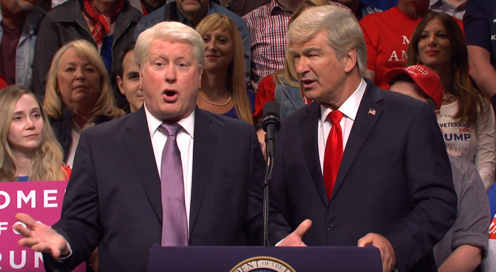 'SNL': Chance the Rapper Hosts as Bill Clinton Crashes a Trump Rally