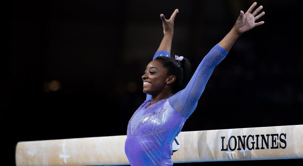 Simone Biles Turns into World Championships' Most Decorated Gymnast
