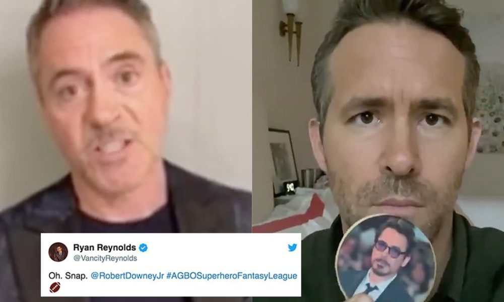 Ryan Reynolds name callings Robert Downey Jr. over myth soccer with a dazzling video