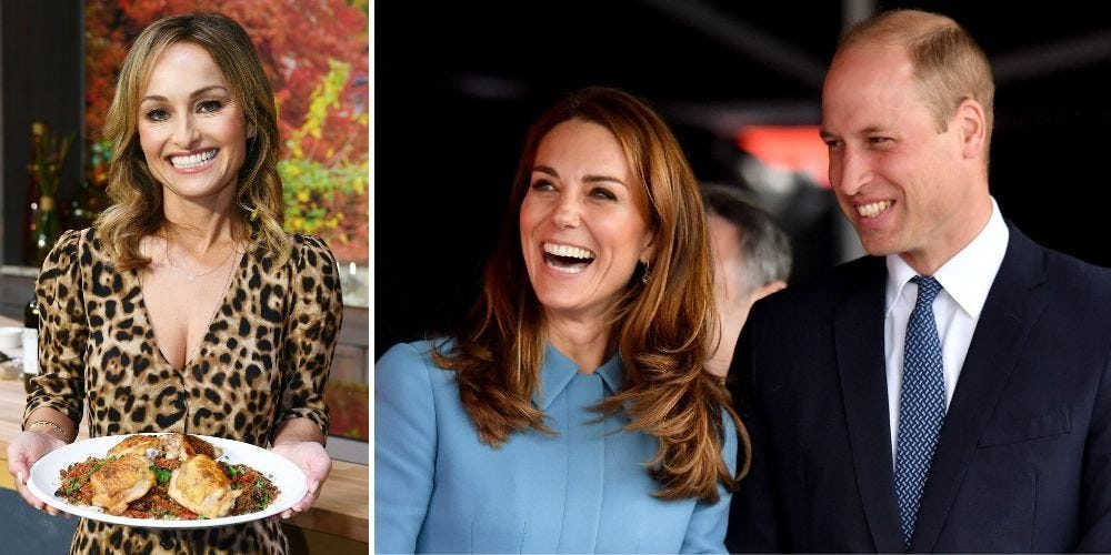 What it be adore to cook for Kate Middleton and Prince William, in accordance with superstar chef Giada De Laurentiis