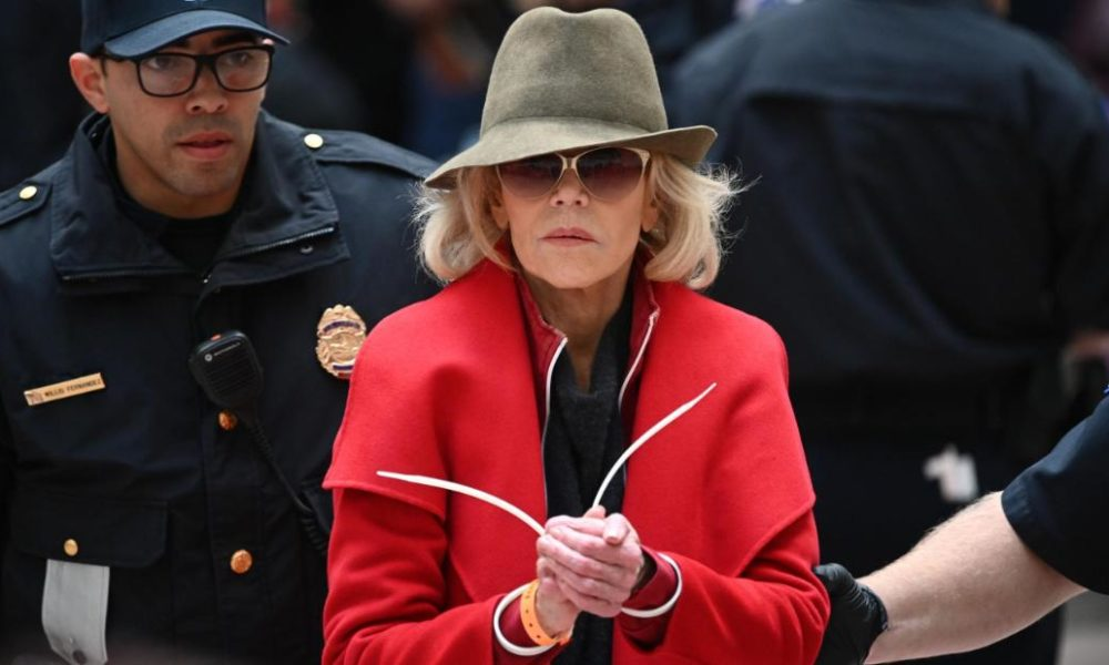 Jane Fonda bought arrested AGAIN. Assemble that the 4th Friday in a row