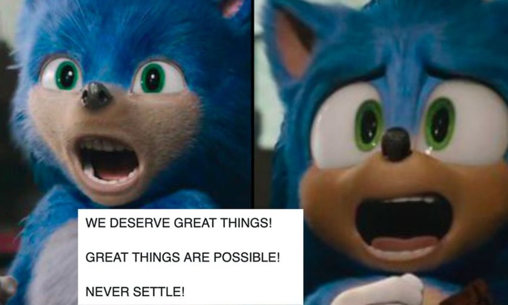 Aw, yeah: Americans at closing admire the new 'Sonic the Hedgehog' end