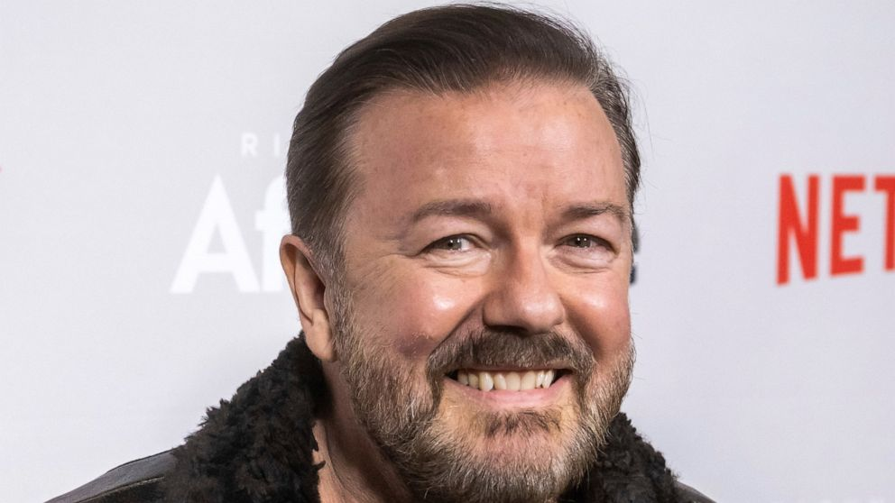 Hollywood Ricky Gervais returning to host the 2020 Golden Globe Awards