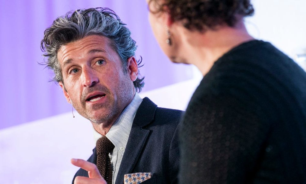 Patrick Dempsey's hair is so legendary that his celeb makeup artist wife is releasing a pomade for males