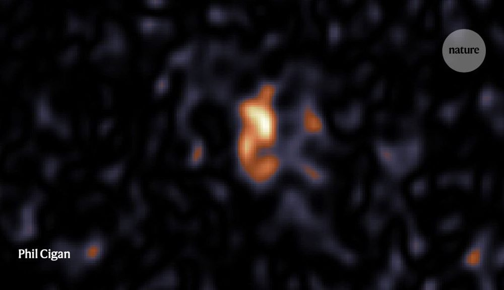 A cosmic 'blob' unearths a neutron famous person that used to be lacking for decades