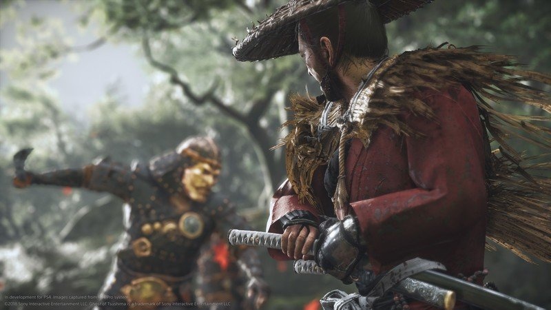 Ghost of Tsushima will earn a brand novel trailer at The Game Awards