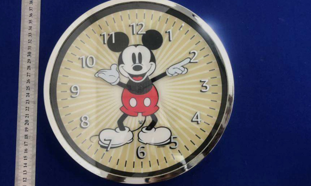 A Mickey Mouse-themed Echo Wall Clock could well presumably furthermore unprejudiced be on the formula