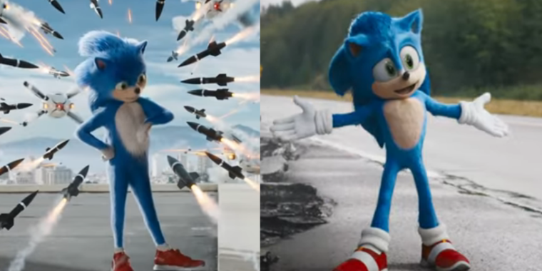 Sonic the Hedgehog's film-look for is mounted following fan outcry