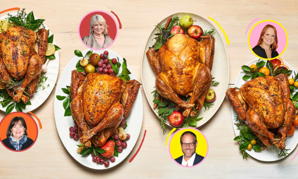 Ina, Alton, Martha, and Ree: Who Obtained Our Thanksgiving Showdown?