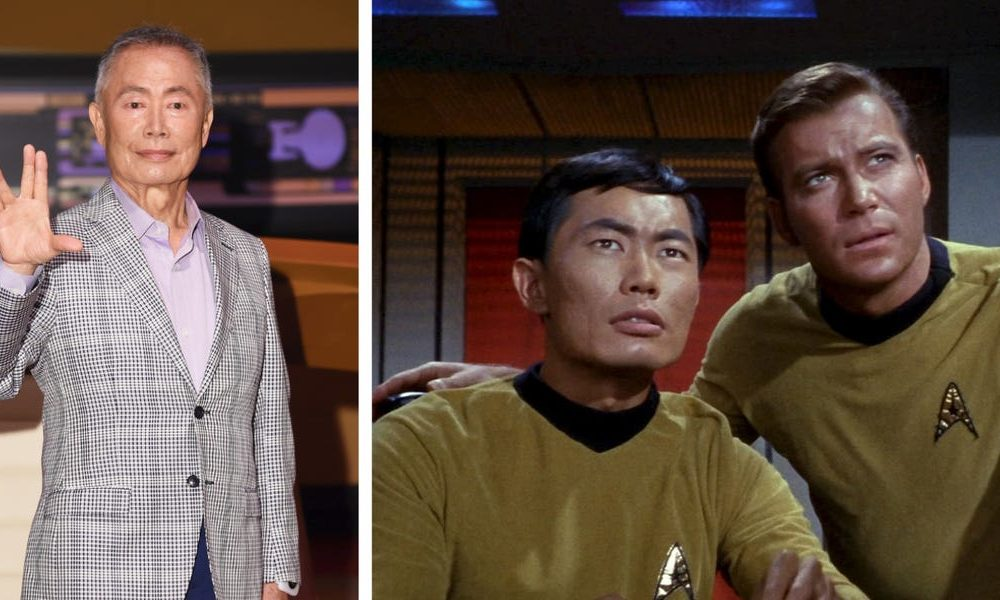 George Takei says his dream dinner celebration would encompass his 'Star Spin' colleagues 'with one exception'