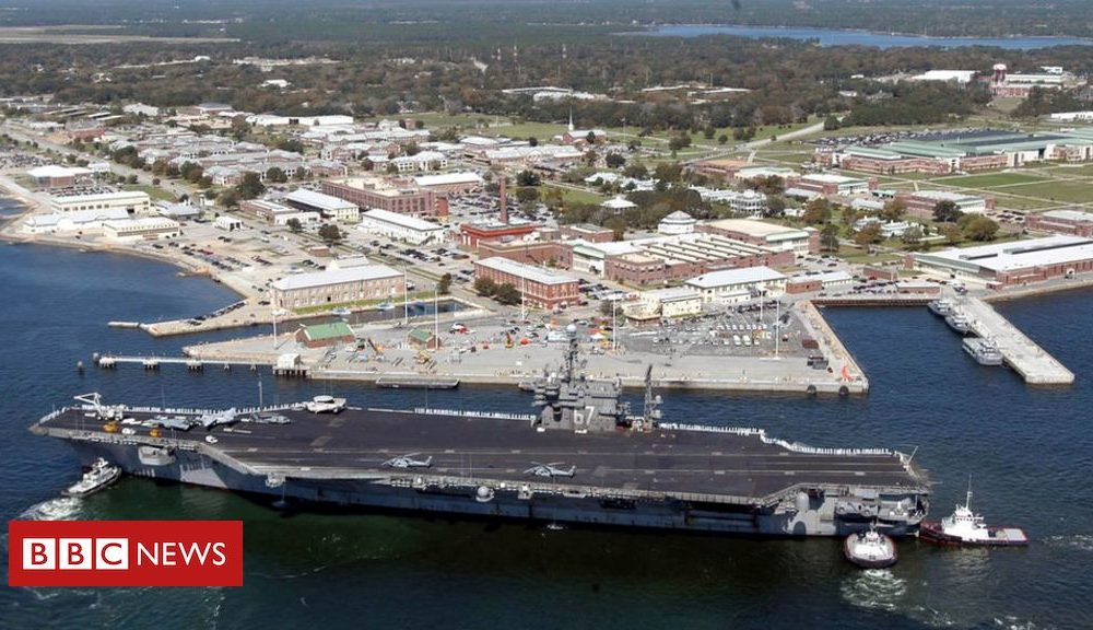 Pensacola taking pictures: Three killed in US naval putrid taking pictures