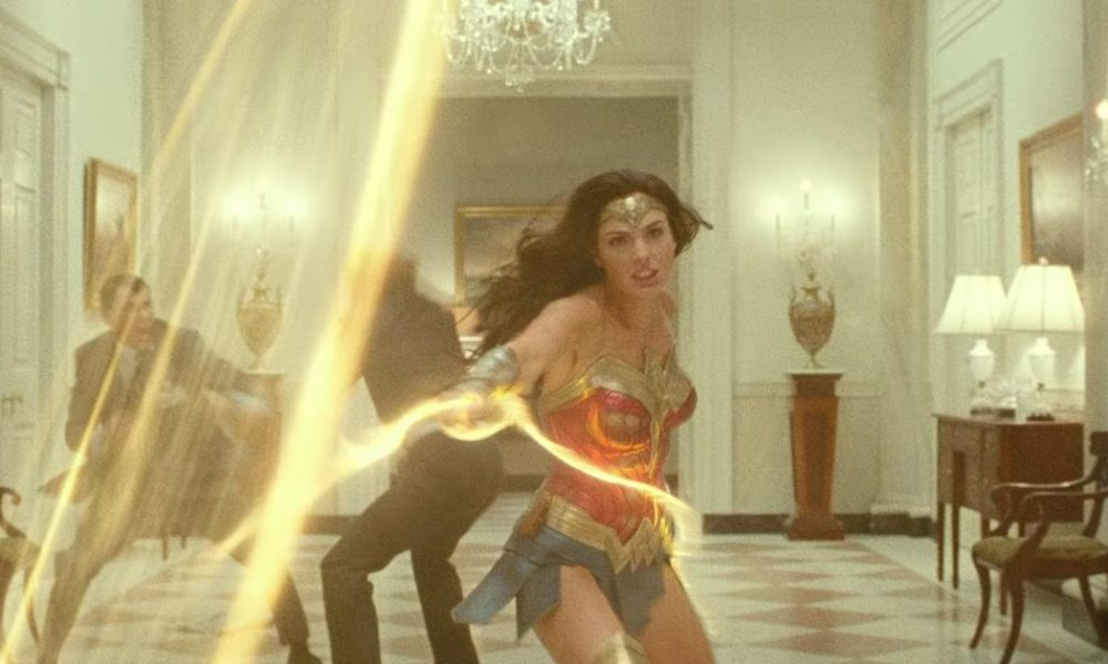 I will no longer discontinue looking at these hectic lasso moments within the 'Wonder Lady 1984' trailer