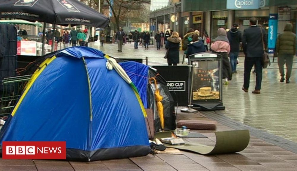 Homeless psychological health and tablets products and services 'broken'