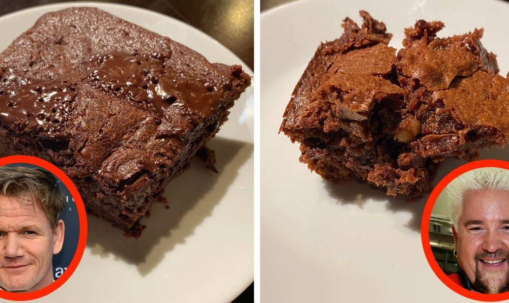 I made brownies using 3 varied famous person-chef recipes, and basically the most productive one became once furthermore basically the most relaxing to bake