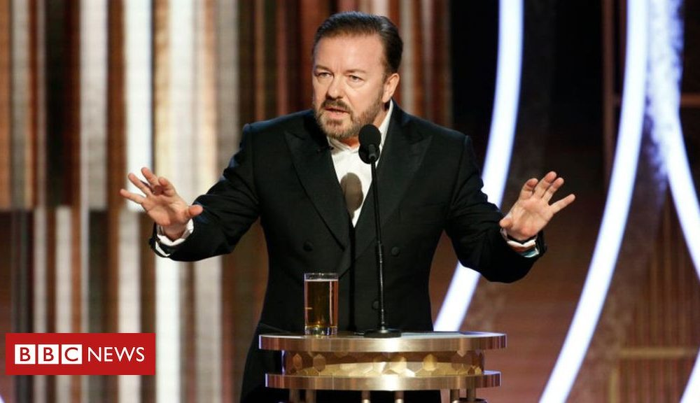 Ricky Gervais slams Apple over Chinese factories