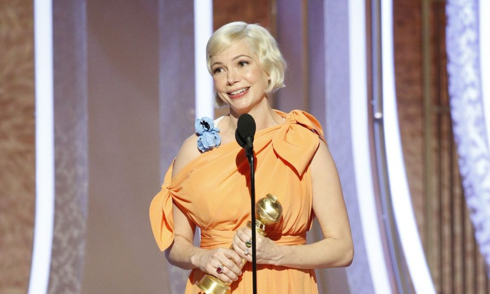 Michelle Williams Emphasizes A 'Lady's Correct To Rob' Throughout Her Golden Globes Speech