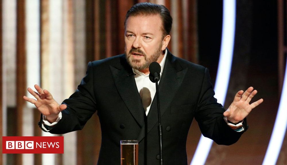Golden Globes 2020: Ricky Gervais's exclusively jokes and other highlights