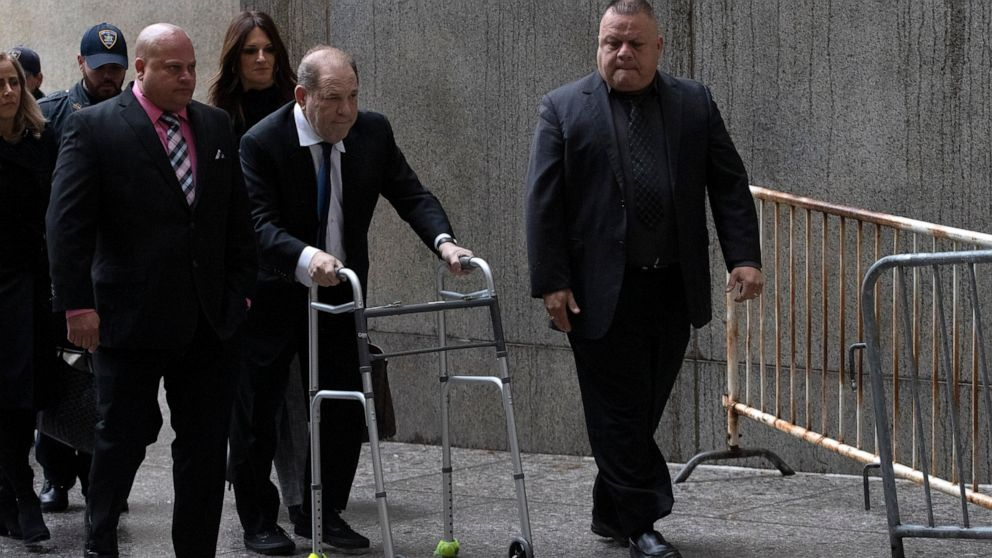 Harvey Weinstein's bail elevated over monitoring points