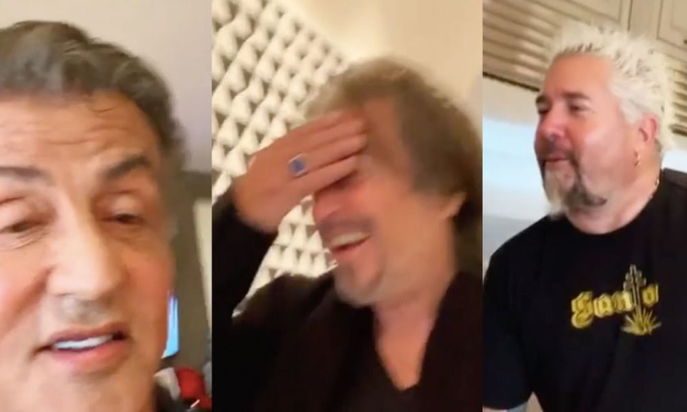 This video of Al Pacino assembly Man Fieri would possibly maybe well maybe almost definitely almost definitely be better than 'The Irishman'