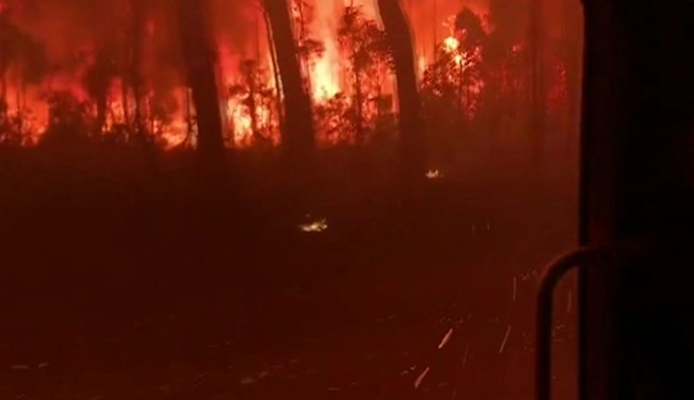 Australia fires: Bigger than 200 homes burn down on fly
