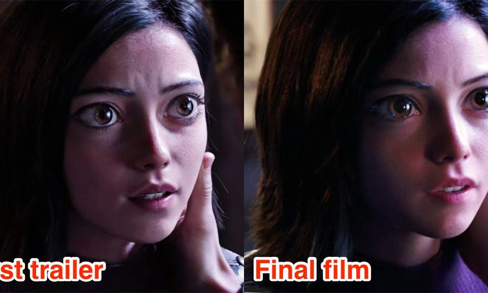 How the first trailer for 'Alita: Fight Angel' brought about the accomplish of the first character's peep to interchange after criticism