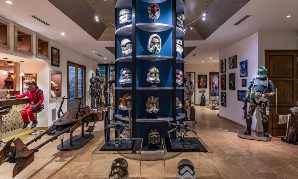 Right here's the $26.5 million Star Wars-themed mansion you are purchasing for – CNET
