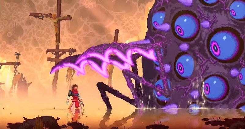 First Tedious Cells: The Corrupt Seed DLC shown off in original trailer