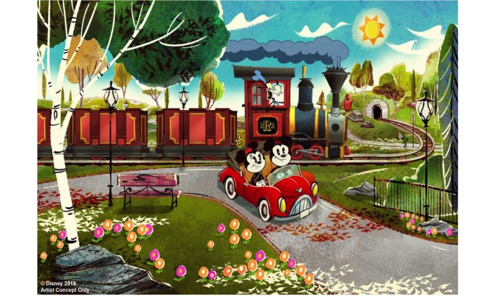 Hollywood Mickey & Minnie's Runaway Railway Adds FastPass+ Service for Visits Foundation March 4