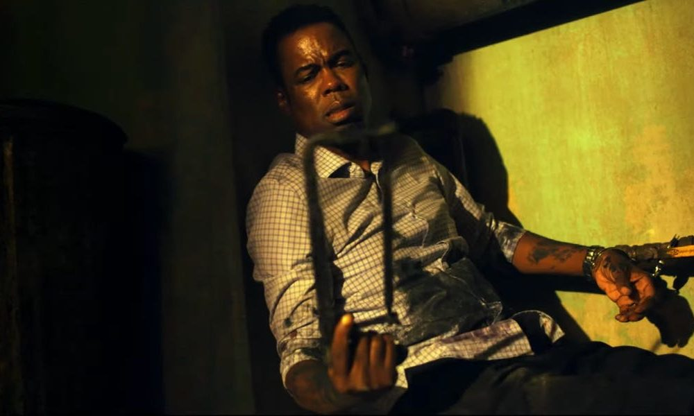Samuel L. Jackson and Chris Rock compare a assortment of murders targeting police officers in the first trailer for the 'Saw' reboot 'Spiral'