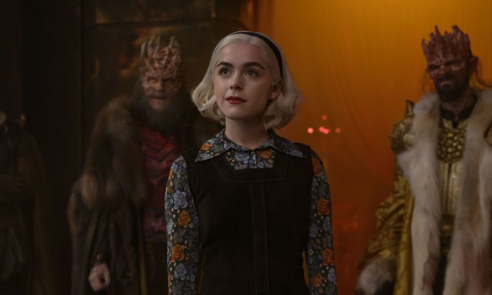 Chilling Adventures Of Sabrina Stars Focus on Theo And Robin's Relationship, Cut's Drug Use, And Extra