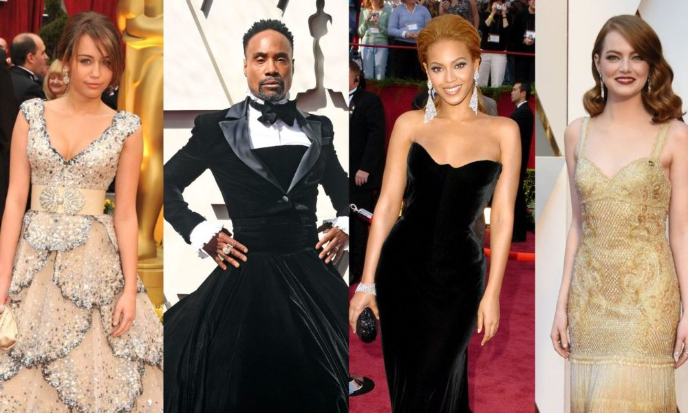 From Miley Cyrus To Billy Porter, Here Are The Easiest Oscars Robes Of The Previous 20 Years