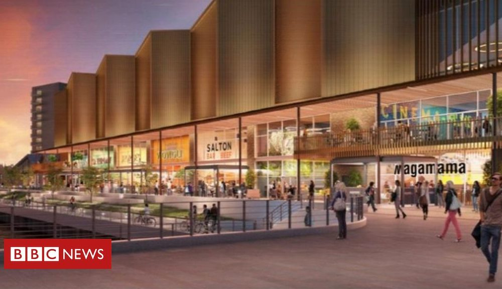 Plans authorized for modern £100m Glasgow Harbour outlet