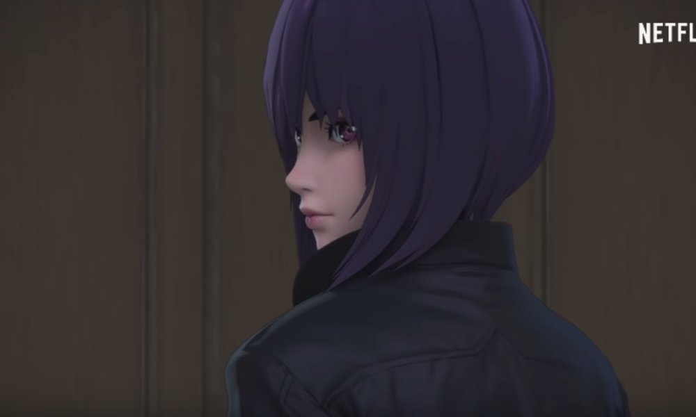 A Greater Gape At The Novel Ghost In The Shell 3D Anime