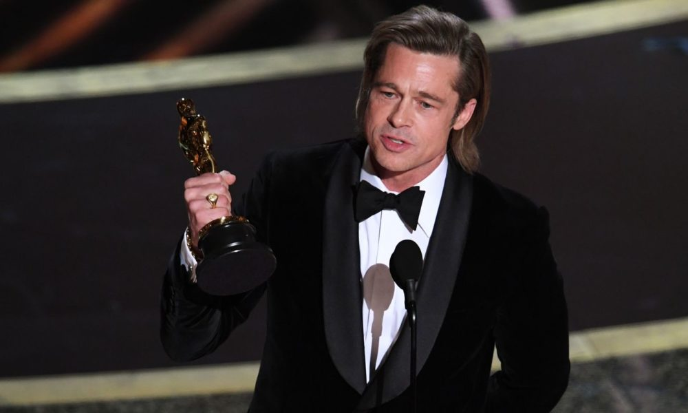 Brad Pitt Is Fully joyful Riding Leonardo DiCaprio's 'Coattails' In Heartfelt Oscars Speech