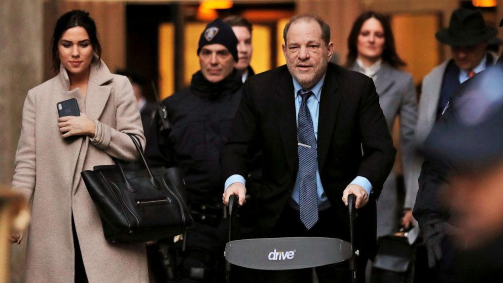 Alleged rape victim to testify Friday at Harvey Weinstein trial