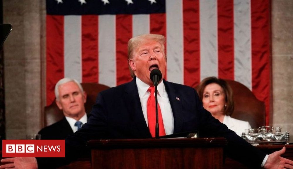 Hollywood News On daily foundation: Trump's gargantuan speech, BBC licence fee and commercial vary