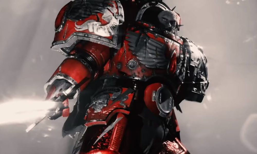 The Warhammer 40,000 gripping series has a brand original trailer, now with extra Home Marines