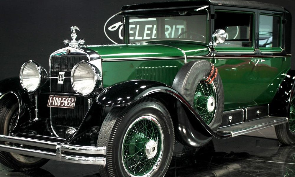 A vehicle vendor is promoting Al Capone's bulletproof 1928 Cadillac sedan for $1 million — peek within