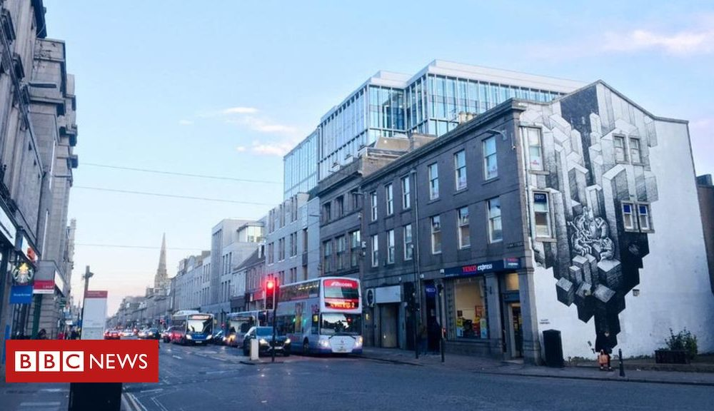 Less than 10% of funds to revitalise Union Facet street in Aberdeen spent