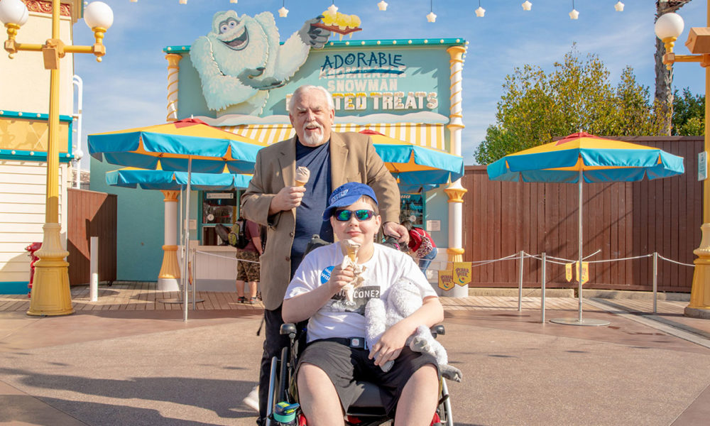 Dreams Near Correct for Boy Who Wished to Meet His Hero at Disneyland Resort