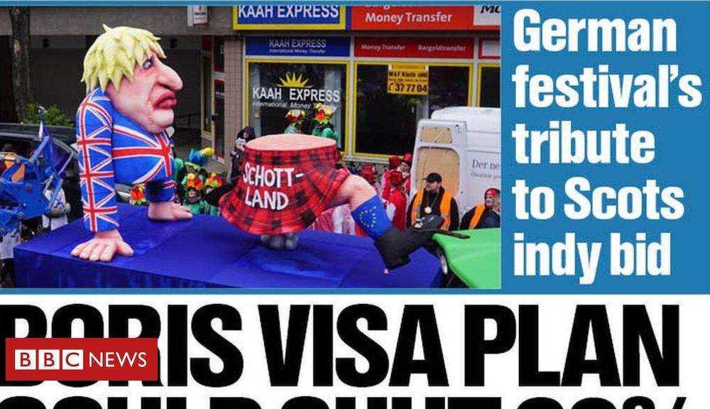 Scotland's papers: Scots visa fears for swap and Weinstein responsible