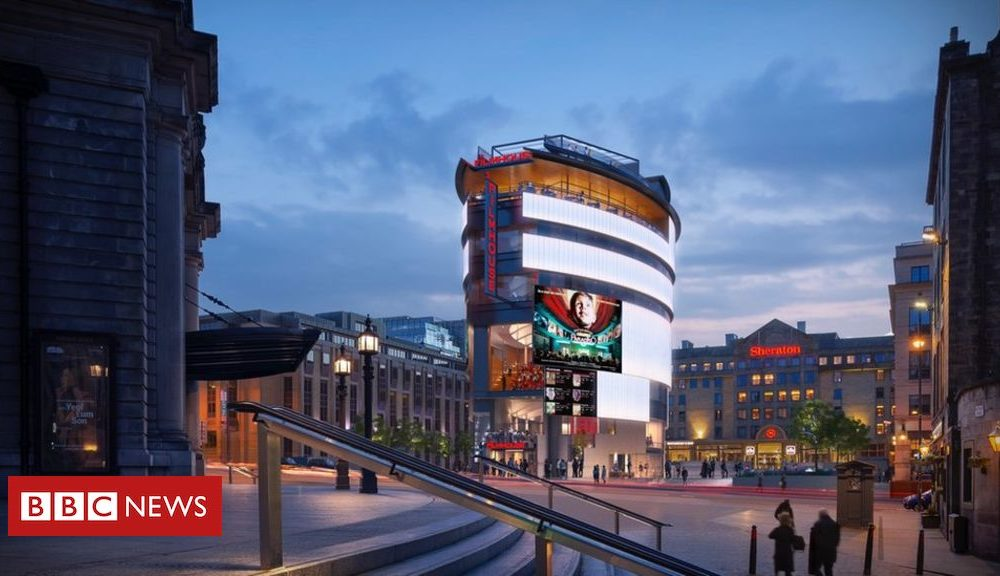 Edinburgh Movie Pageant: Plans for hub tower unveiled
