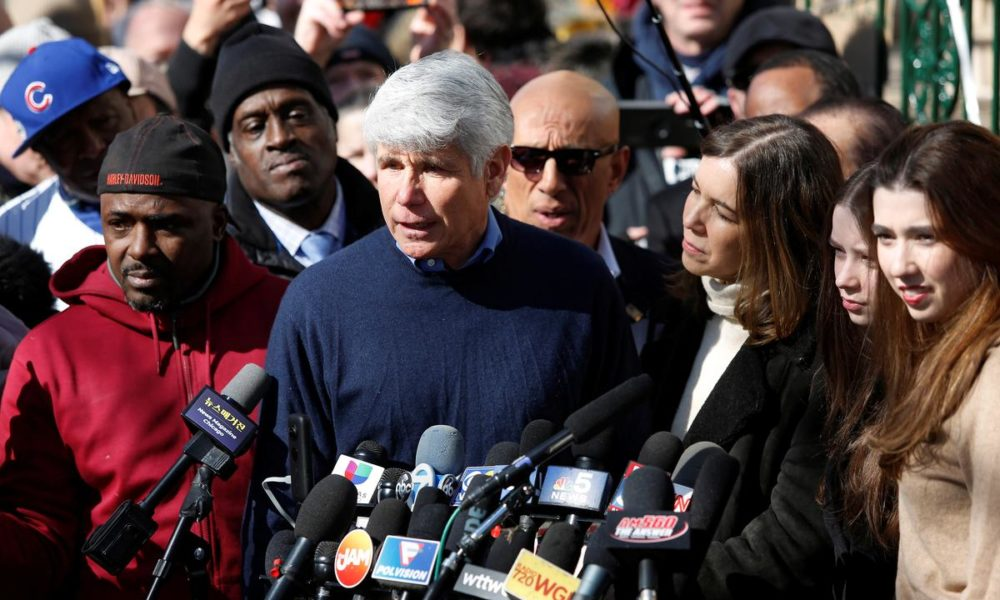 Primitive Illinois governor Blagojevich thanks Trump for commuting sentence