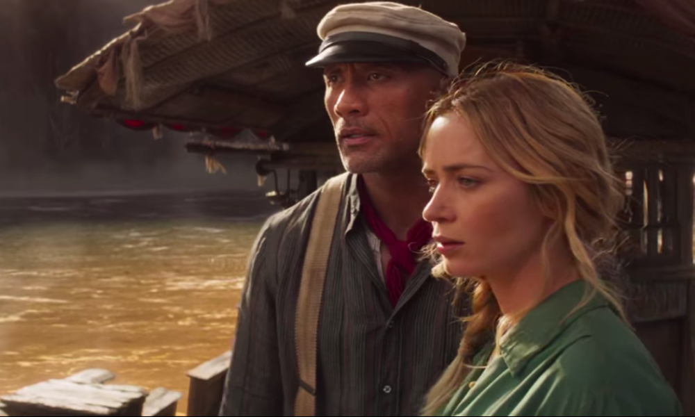 Emily Blunt and Dwayne Johnson crew up for trot in lighthearted 'Jungle Cruise' trailer