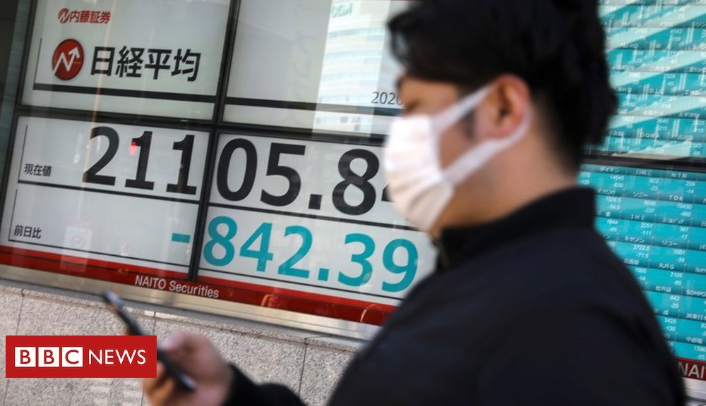 News Day-to-day: Virus hits shares and doubts over avenue-building plans
