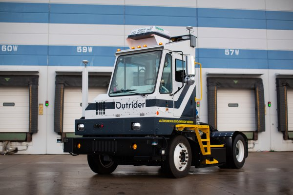 Self reliant yard trucking startup Outrider comes out of stealth with $Fifty three million in funding